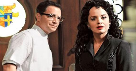 Joshua Malina and Mena Suvari American Horror Story FX