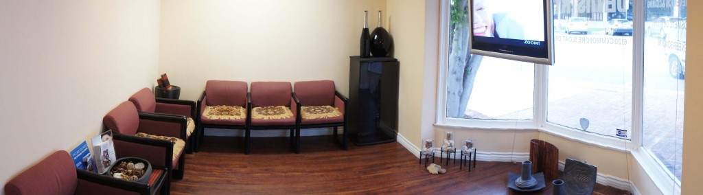 The Waiting Area In Our Dental Office.